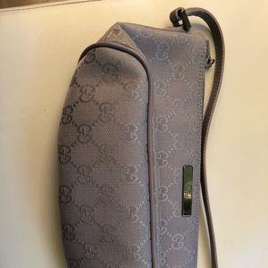 Gucci Pochette GG Monogram Canvas Handbag